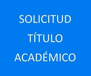 SOLICITUD TÍTULO