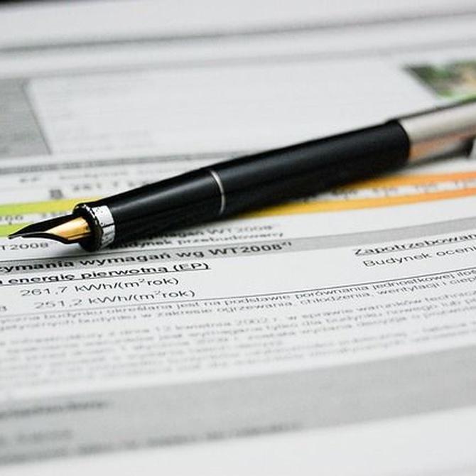 ¿Qué significan las letras de un certificado energético?