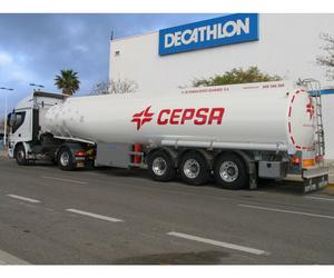Producción de cisternas de aluminio para el transporte de fluidos
