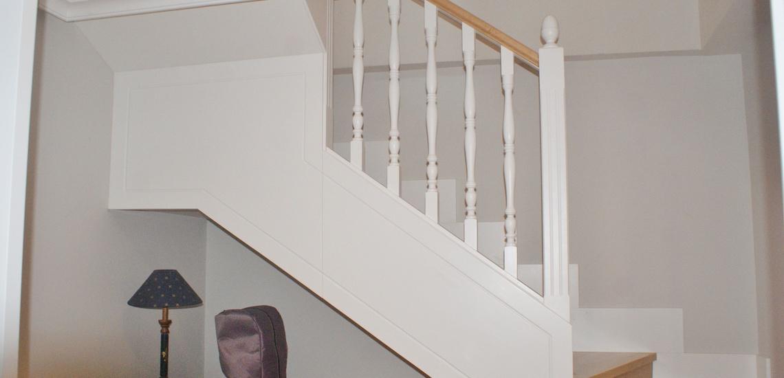 Escaleras de madera en Villaviciosa de Odón