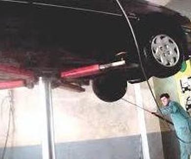 Limpieza bajos de motor