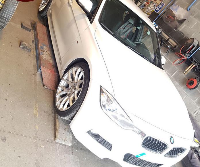 BMW F30 320d - 3SDM 001 y Eibach