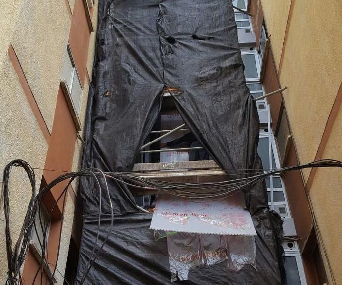 cerramiento de ascensores en Tenerife