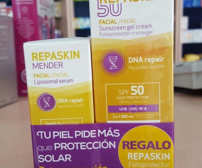 Sesderma Repaskin SPF50 Facial Fotoprotector Crema Gel: Productos y Promociones de Farmacia Lucía