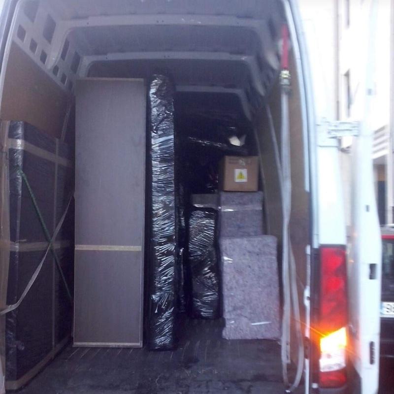 Portes y mudanzas: Servicios de Transportes Marín González
