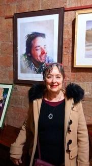 Susana Baldis Premio del Publico de la IV Exposición Internacional de Acuarela
