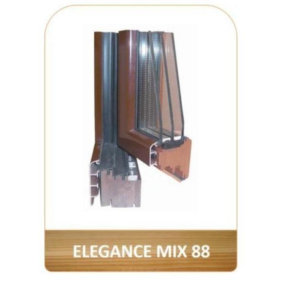 Ventana en madera y aluminio Elegance Mix 88: Productos de Carpintería Ortal