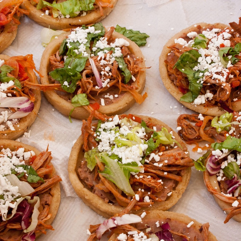 Sopes: Carta de El Tajín Mexicano