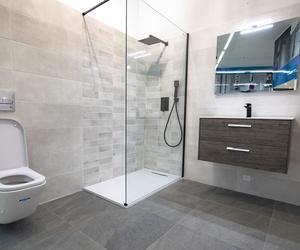 Baño estilo moderno