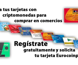 Gasta tus criptos en establecimientos de primer orden, canjeandolas en Eurocoinpay por tarjetas regalo