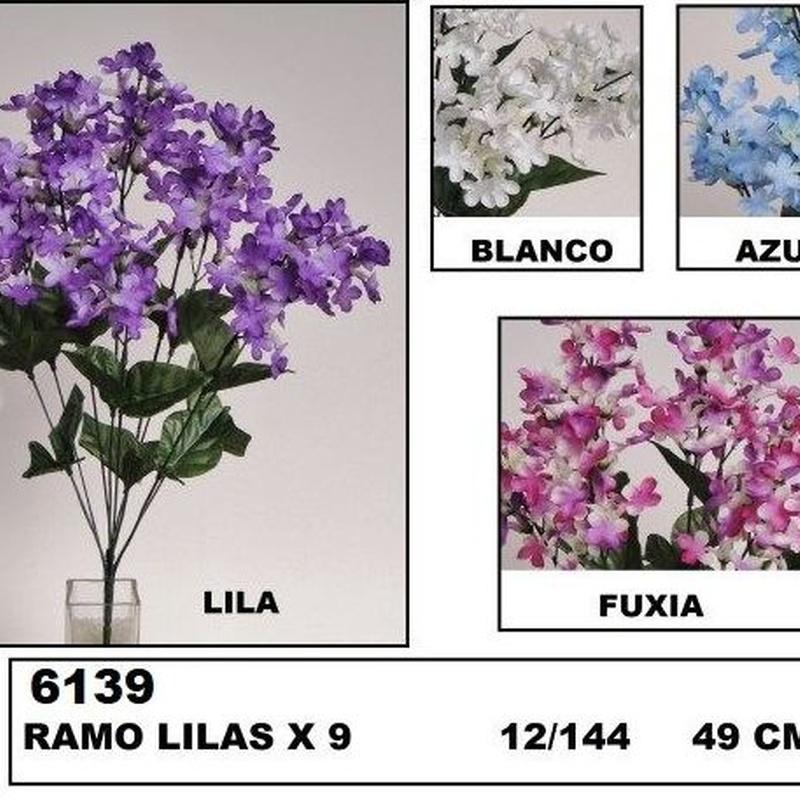 POMO LILAC X9 (49 CM) COLOR:AZUL REF.:6139 AZU PRECIO:1,80 €