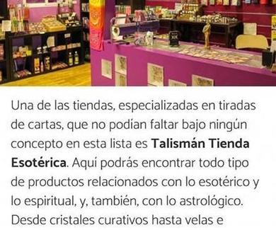 Articulo sobre talismán