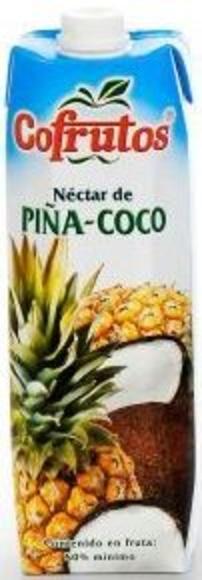 Cofrutos piña-coco 1l.: PRODUCTOS de La Cabaña 5 continentes
