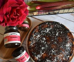Nueva receta «Up side down cake» de Ruibarbo Especiado de Plain & Simple