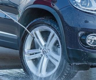 Hidratación de los plásticos desgastados 10€: Servicios de Car Wash Alcorcón 1