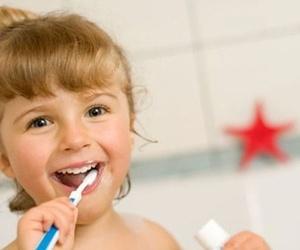 El cuidado de dientes en la infancia