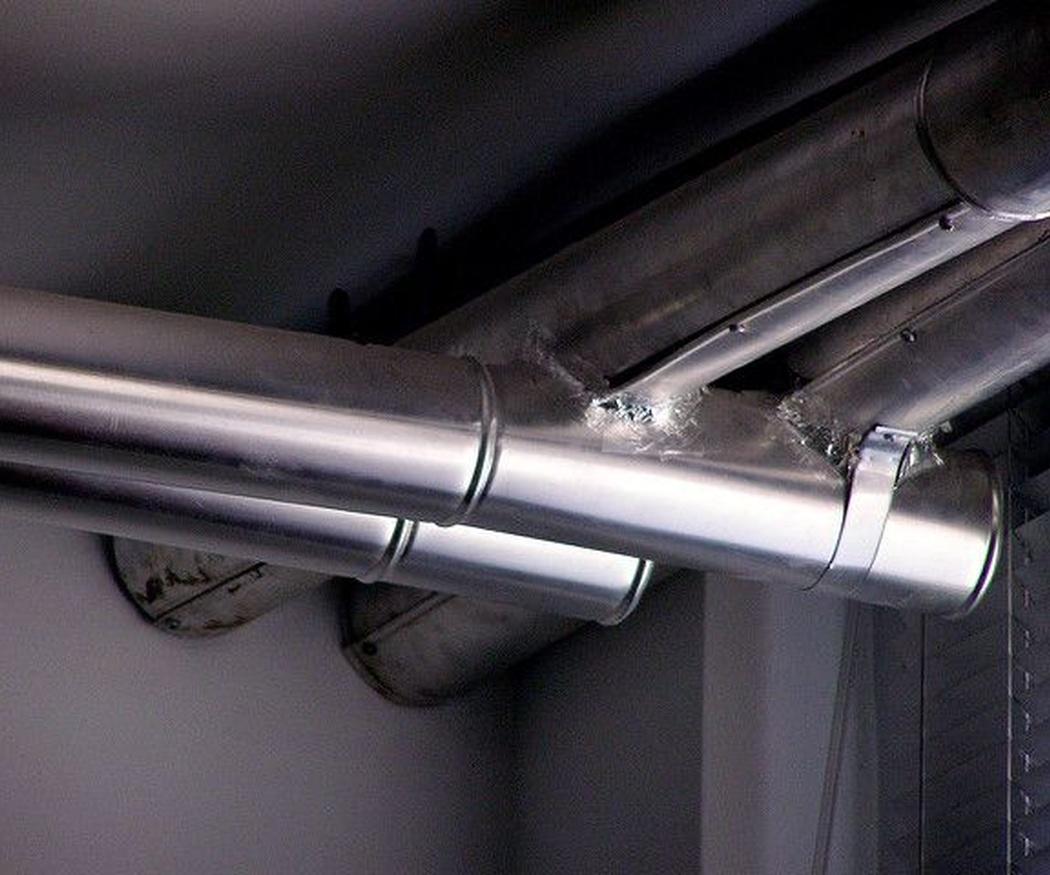 Unas buenas tuberías para evitar las goteras