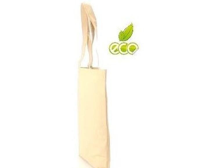 Bolsa ecológica de fibras de algodón y papel