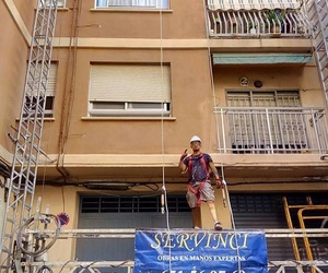 Rehabilitación de fachada principal en Valencia