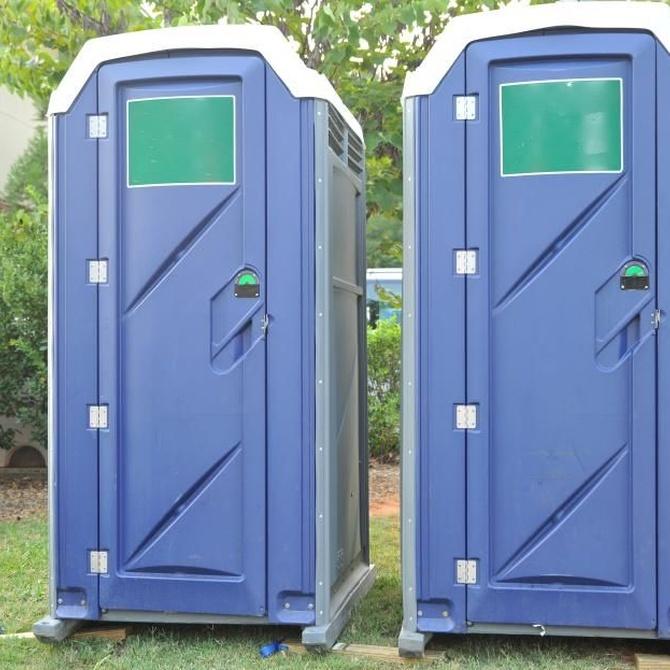 WC portátiles para las bodas al aire libre