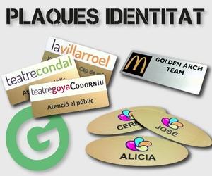 Placas de identidad