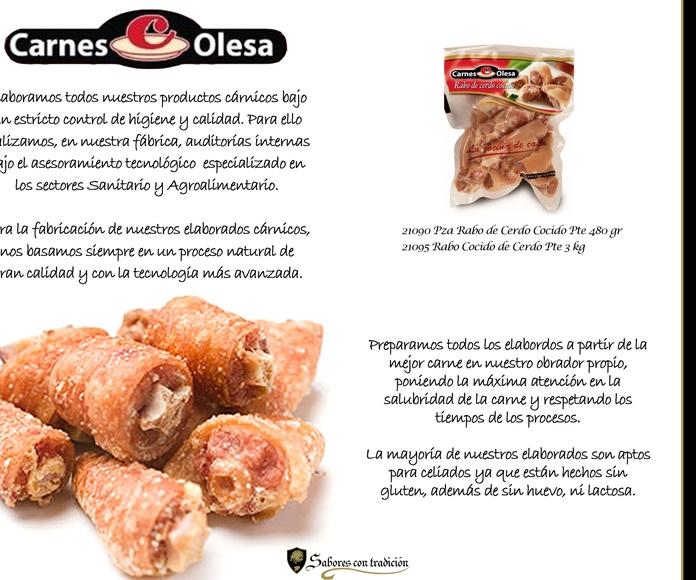 """Carnes  """" Olesa """": Productos de Sabores con tradición"""
