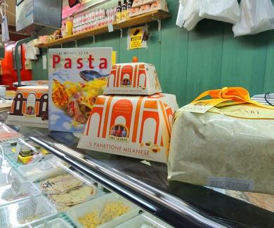 Quesos y productos italianos en Barcelona