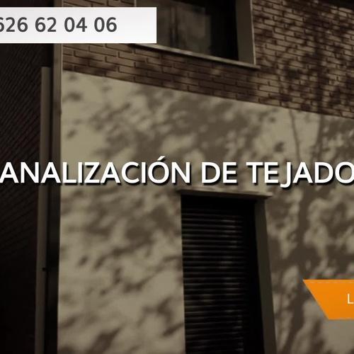 Instalación de canales pluviales en Zaragoza | Aragonesa de Canales