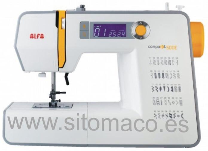 ALFA COMPAKT 500 : Catálogo de Sitomaco