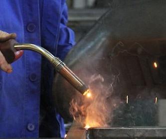 Carpintería metálica: Servicios de CM Marcu