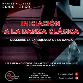 INICIACIÓN A LA DANZA CLÁSICA