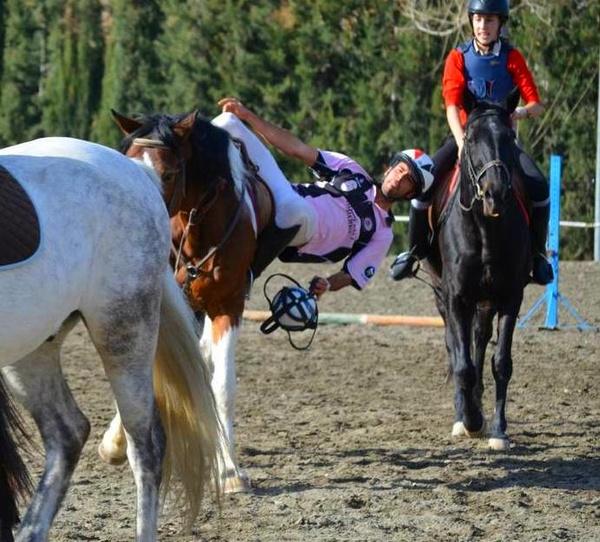 HORSEBALL EN EL CLUB HIPICO DE CENES