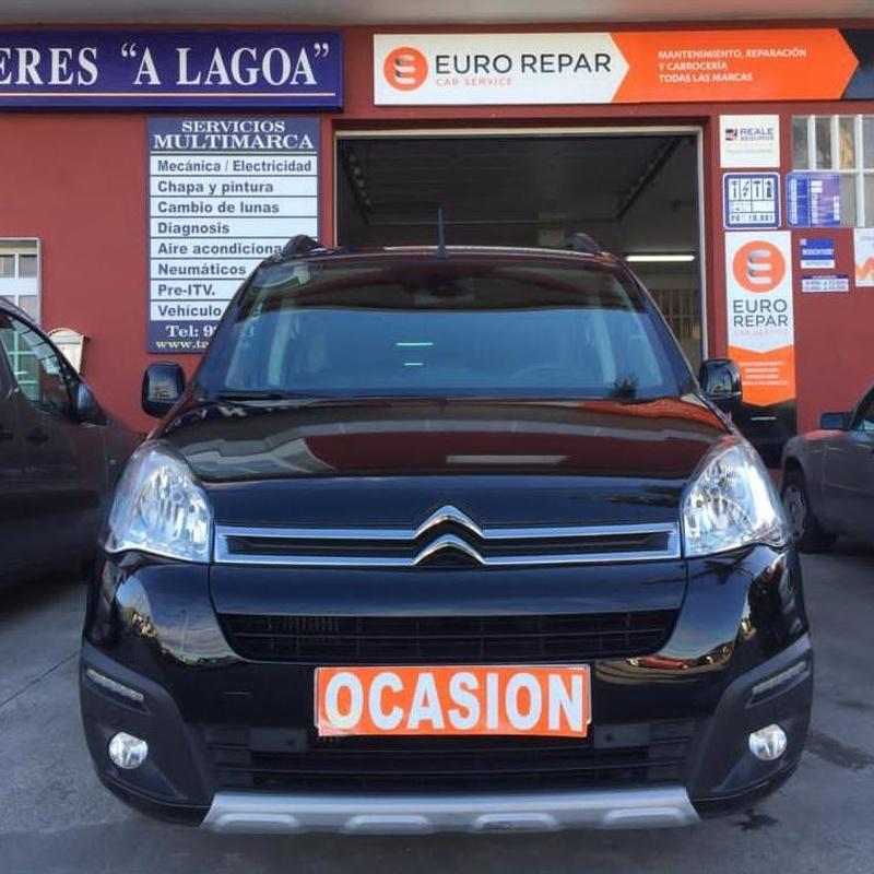 CITROEN BERLINGO 1.6BlueHDI 120CV:  de Ocasión A Lagoa