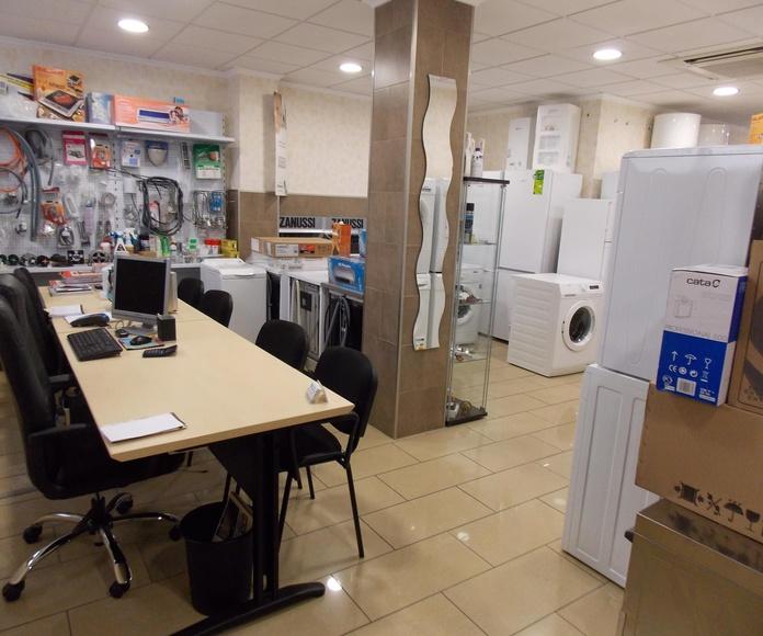 Venta de electrodomésticos: Productos y servicios de Instalaciones y Servicio Técnico Ballester