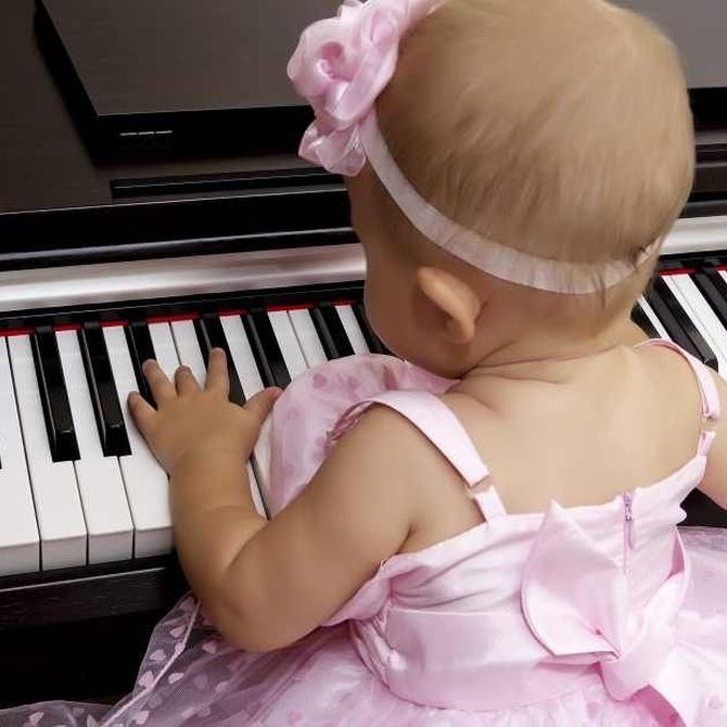 Instrumentos musicales para los más pequeños