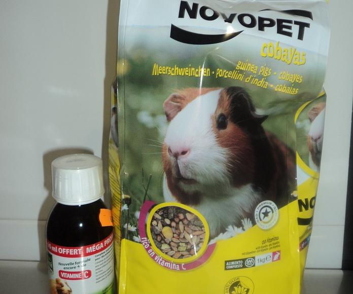Alimentos para cobayas: Catálogo de Clínica Veterinaria Rocafort