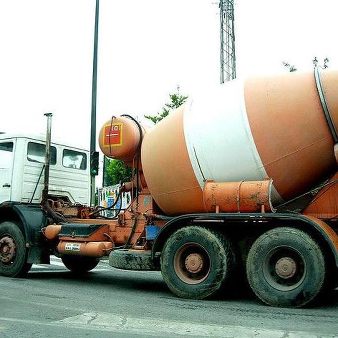 Seguridad en el uso de hormigoneras sobre camión