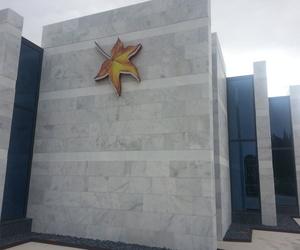 Fachada de marmol