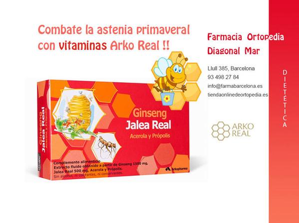 Vitaminas Arko Real