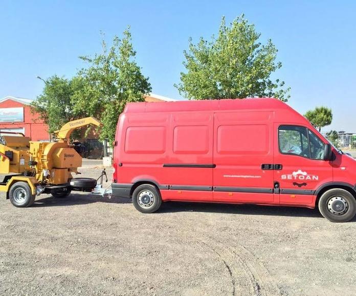 Nuestra flota: Servicios de Setoan Logística de Maquinaria y Transporte
