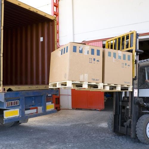 Transporte de materiales de construcción