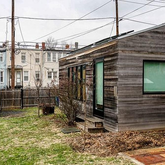 Las mini casas de madera están de moda