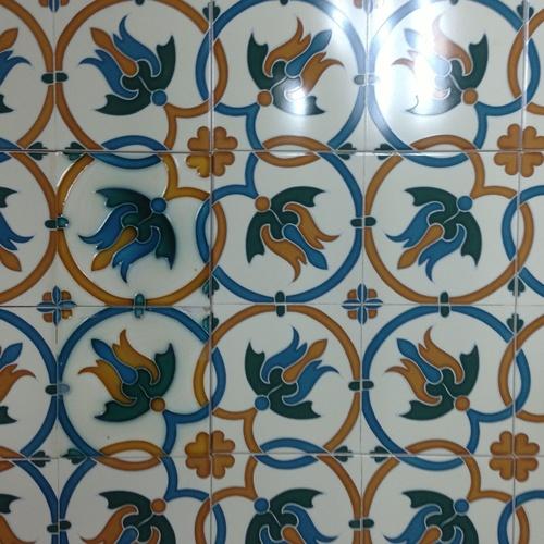 Serigrafía de azulejos en Bilbao