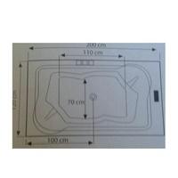 Modelo Kapa 2,00 x 120: Nuestros productos de Aqua Sistemas de Hidromasaje