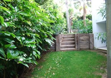 Muros y escaleras