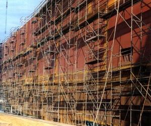 Alquiler de andamios para reformas de fachadas