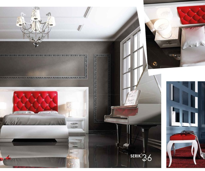Furniture colección serik 2 salones y dormitorios: Catálogo de muebles y sofás de Goga Muebles & Complementos