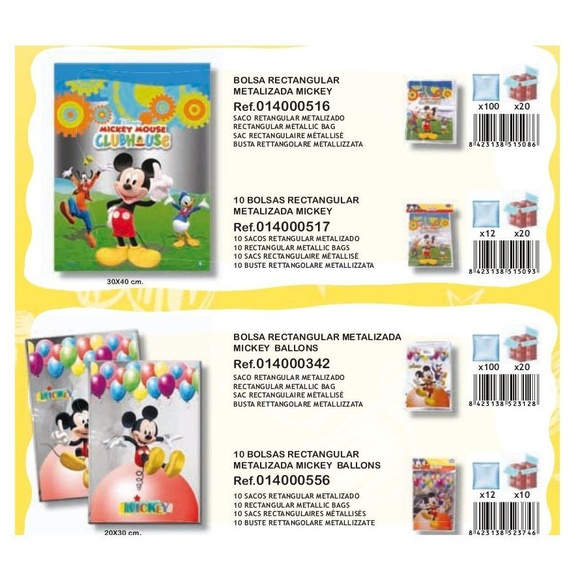 Mickey Mouse: Productos de Verbetena }}