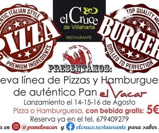 Lanzamiento Pizza & Burgers
