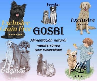 Decubre Gosbi, el nuevo pienso premium para mascotas